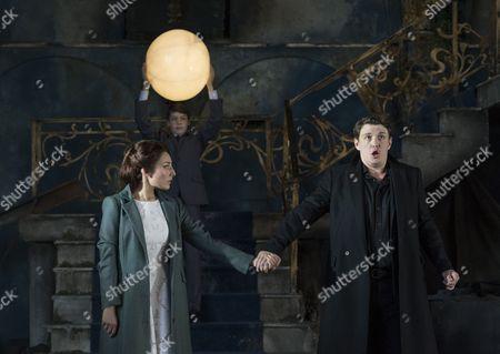 Andrea Carroll as Melisande Jonathan McGovern as Pelleas