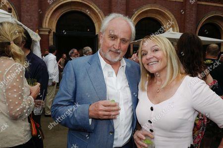 Nick Allott and Helen Fielding