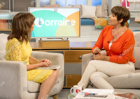 Lorraine Kelly and Sally Bee