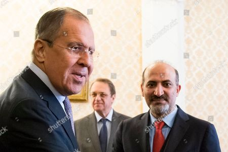 Editorial picture of Russia Syria, Moscow, Russian Federation - 22 Jun 2017