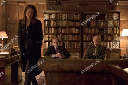 Stock Image of (Episode 3) - Robin Weigert as Heather Myles, Michale Gambon as Alastair and Colin Stinton as Jack Kretchmer.