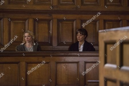 (Episode 3) - Helen McCrory as Emma Banville and Rebecca Callard as Annie Peterson.