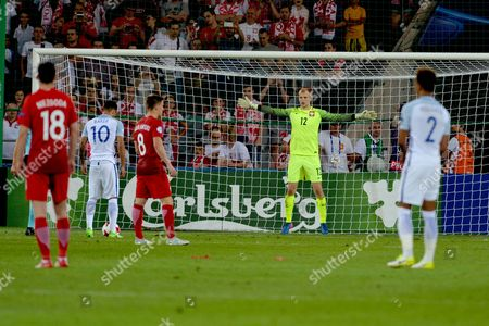 Editorial photo of England v Poland, UEFA Under 21 Championship Group A, International Football, Kielce City Station, Poland - 22 Jun 2017