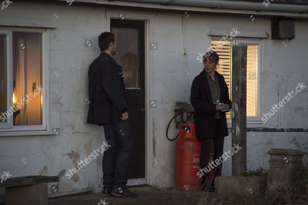 (Episode 4) - Helen McCrory as Emma Banville and Jonathan Forbes as Dominic Trewlove.