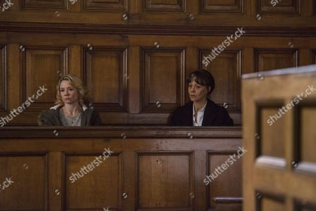 Stock Image of (Episode 4) - Helen McCrory as Emma Banville and Rebecca Callard as Annie Peterson.