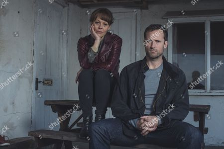 (Episode 5) - Helen McCrory as Emma Banville and Jonathan Forbes as Dominic Truelove.
