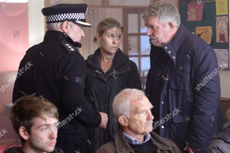 (Episode 3) - John Sessions as CI Frank Smilie, Jenny Ryan as Nicole Patterson and Moray Hunter as Ken Patterson.