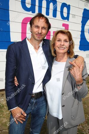 Stock Picture of Senta Berger, Luca Verhoeven