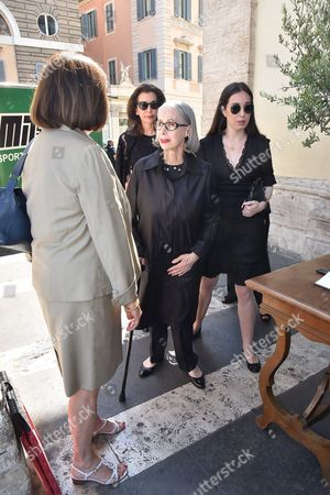 Editorial photo of Carla Fendi funeral, Santa Maria di Montesanto church, Rome, Italy - 22 Jun 2017