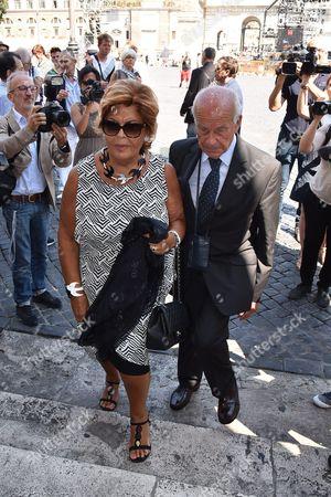 Rosario Fiorello and Lella Bertinotti