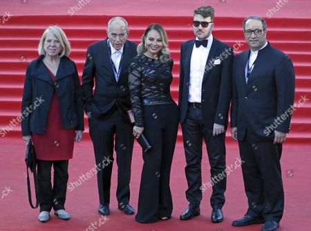 Jorn Donner, Ornella Muti and Albert Serra