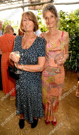 Lady Annabel Goldsmith and Tracy Louise Ward