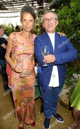 Tracy Louise Ward and Jasper Conran