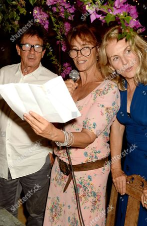 Francesco Boglione, Rachel Ward and Gael Boglione