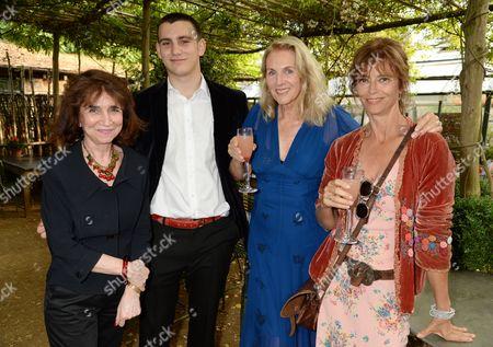 Irena Hochman, Gabriel Jagger, Gael Boglione and Rachel Ward