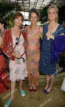 Rachel Ward, Tracy Louise Ward and Bella Somerset