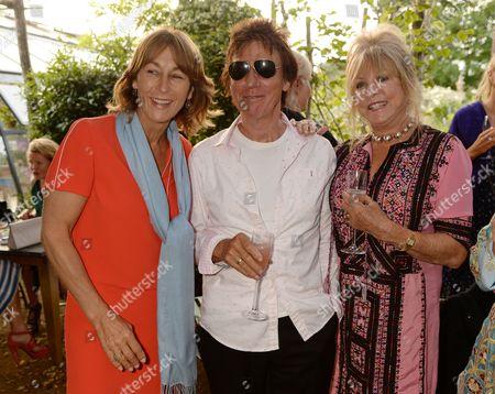 Lulu Hutley, Jeff Beck and Pattie Boyd