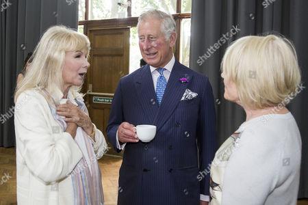 Susan Hampshire and Prince Charles