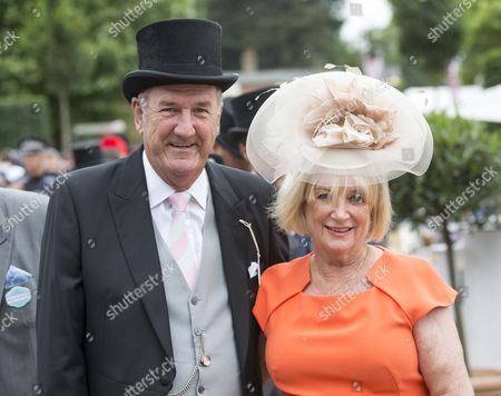 Russ Abbot with wife Trish