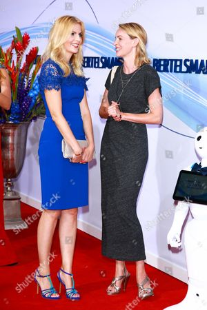 Stock Picture of Tanja Buelter and Simone Hanselmann