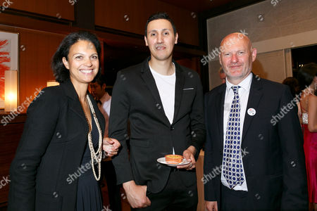 UniFrance General director Isabelle Giordano and UniFrance President Jean-Paul Salome