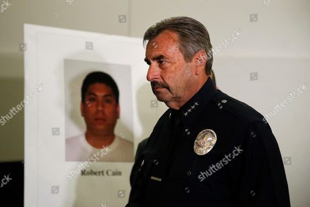 Editorial photo of Police Cadet Crime, Los Angeles, USA - 22 Jun 2017