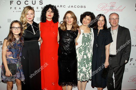 Ooma Laurence, Kirsten Dunst, Stacey Battat, Sofia Coppola, Sarah Flack, Anne Ross,Phillippe Le Sourd