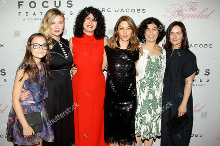 Ooma Laurence, Kirsten Dunst, Stacey Battat, Sofia Coppola, Sarah Flack, Anne Ross