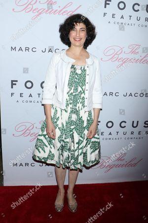 Sarah Flack, film editor