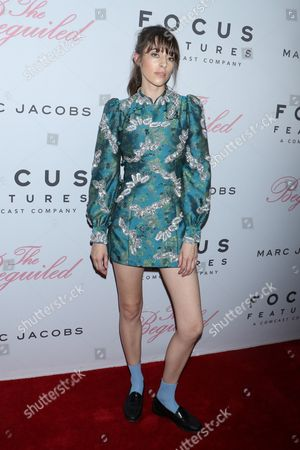 Editorial image of 'The Beguiled' film premiere, Arrivals, New York, USA - 22 Jun 2017
