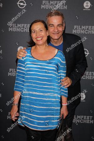 Stock Image of Heinrich Schafmeister with wife Jutta,