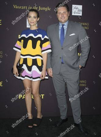 Kathleen Munroe (L) and Chief Creative Officer, HBC, Mark Briggs