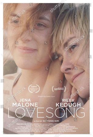 Lovesong (2016) Poster Art. Riley Keough, Jena Malone