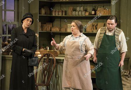 Stock Photo of Clarissa Meek as Florence Pike, Kathleen Wilkinson as Mrs Herring, Richard Pinkstone as Albert Herring,