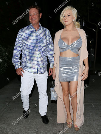 Stock Image of Courtney Stodden and friend
