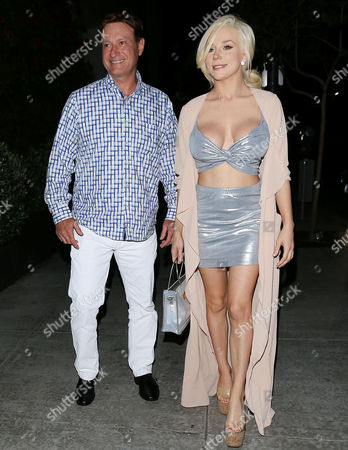 Editorial picture of Courtney Stodden and Doug Hutchison out and about, Los Angeles, USA - 22 Jun 2017