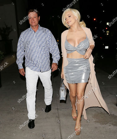 Editorial image of Courtney Stodden and Doug Hutchison out and about, Los Angeles, USA - 22 Jun 2017