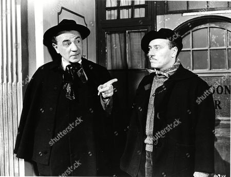 Stock Photo of Max Brimmell (Staines) and Larry Burns (Alfie)