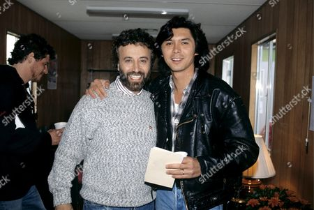 Lou Diamond Phillips and Yakov Smirnoff in 1993   - Law & Order: Svu Actor Lou Diamond Phillips Was Arrested Friday For Alleged Domestic Violence -