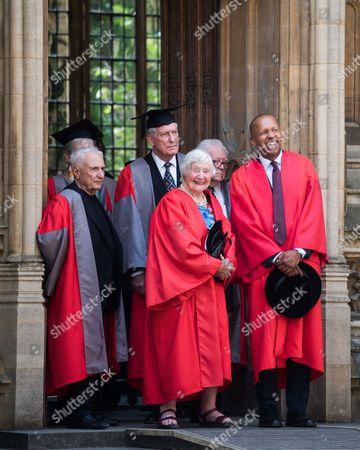 Frank Gehry, Dr Robert Darnton, Baroness Shirley Williams, Professor Eugene Braunwald, Bryan Stevenson