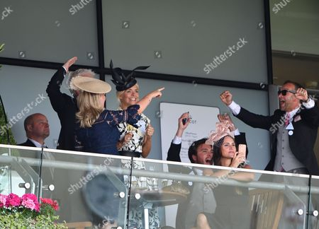Holly Willoughby, Phillip Schofield, Stephanie Lowe, Ben Caring and Elle Caring, Daniel Baldwin