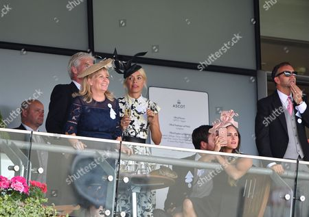 Holly Willoughby, Phillip Schofield, Stephanie Lowe, Ben Caring, Elle Caring, Daniel Baldwin