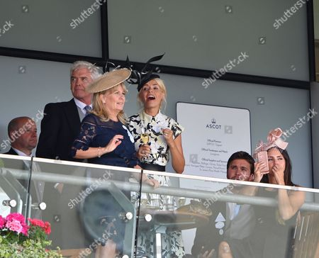 Stock Picture of Holly Willoughby, Phillip Schofield, Stephanie Lowe, Ben Caring and Elle Caring
