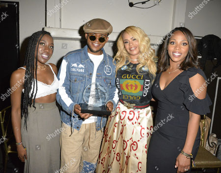 Stock Picture of T'yanna Wallace, Christopher Jordan Wallace, Faith Evans, Nicole George-Middleton