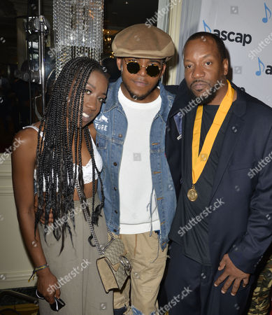 Stock Image of T'yanna Wallace, Christopher Jordan Wallace, Kenneth Grant