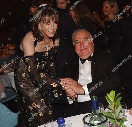 Petra Schuermann and Helmut Kohl