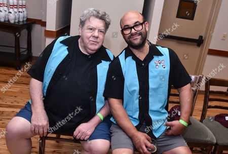 George Wendt and Ian Gomez