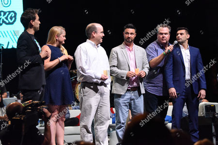Blake Vogt, Eric Stonestreet and guests
