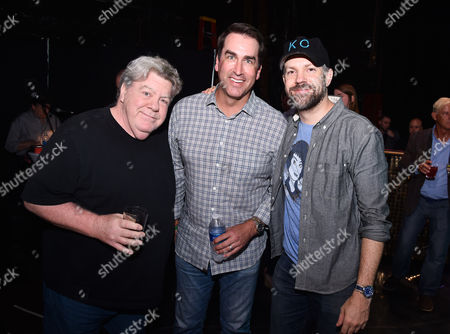 George Wendt, Rob Riggle and Jason Sudeikis