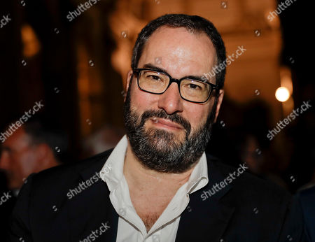 Stefano Eco, son of Italian late writer Umberto Eco, attends La Milanesiana cultural event, at the San Marco church, in Milan, Italy
